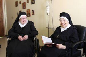 Sister Denis and Sister Bernadette