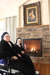 Sister Daniel and Sister Francesco