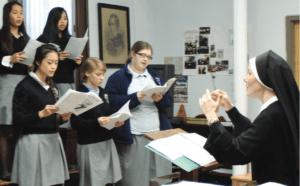 AHF Choir Students